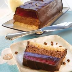 Norwegian Food, Scandinavian Food, Different Cakes, Pudding Desserts, Mini Cakes, Chocolate, Coffee Cake, Yummy Cakes, No Bake Cake