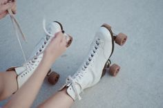 Rollerskates uploaded by Djanisha on We Heart It 1990s, We Heart It, Maleficarum, Indie, Blue Neighbourhood, Last Day Of Summer, Pret A Porter Feminin, Lolita, White Aesthetic