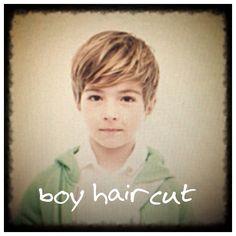 Cute boys' haircut