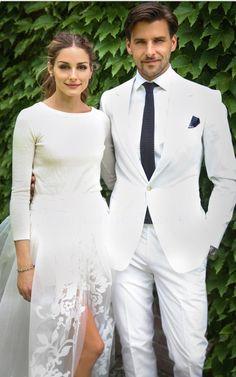 Olivia palermo & Johannes Huebl wedding