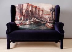 Dreamy!  Bosphorus Wing patchwork sofa by namedesignstudio on Etsy, $2600.00