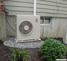 Another quality installation of a Mitsubishi #ductless mini-split system. Call Total Comfort Heating and Air Conditioning, your #Mass Mitsubishi Diamond Dealer, to find out how you can save up to $300 OFF your new mini-split installation!  i