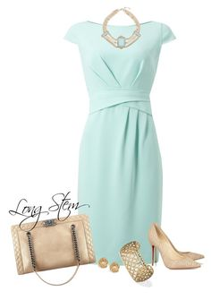 4/23/17 by longstem on Polyvore featuring Jacques Vert and Christian Louboutin