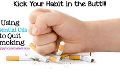Kick Your Habit in the Butt - Using Essential Oils to Quit Smoking - The Hippy Homemaker