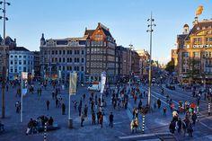 Fly me Away: Na #Holanda, I #Amsterdam | #flowers #IAmesterdam #PraçaDam #Dam #flicker