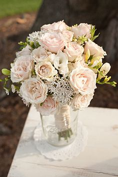 Romantic Bouquet from Style Me Pretty