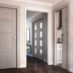 Puertas Leroy Merlin, Architrave, Gate Design, Door Design, Main Door, Modern House Design, Door Spice Rack, Gypsum Ceiling, Door Detail