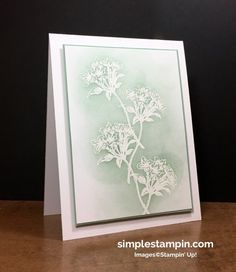 LESS works - WOW! - Simple Stampin