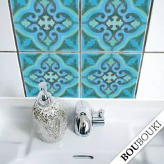 Tile decals are an easy and removable way to change up your backsplash, too. 42 Cheap And Easy Home Upgrades That Will Make Your Home Look More Expensive Easy Home Upgrades, Kitchen Upgrades, Kitchen Remodeling, Kitchen Ideas, Remodeling Ideas, Kitchen Makeovers, Cocina Shabby Chic, Shabby Chic Kitchen, Half Painted Walls