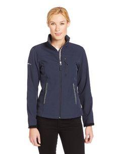 White Sierra Women's Golden Gate Softshell Jacket, Titanium, Large