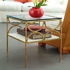 Gold Fitzgerald Table