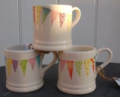 Endless Summer bunting mugs £14.00