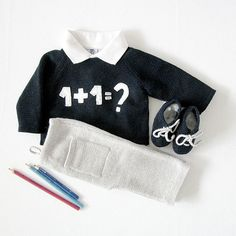 For the tiniest mathematician.