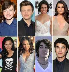 Glee Stars: Then and Now! Who's Changed the Most Since Season 1  Lea & Cory have changed the most!