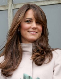 Behold, Kate Middleton's newly layered hair.