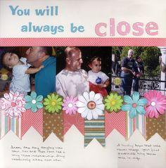 Close scrapbook page layout- Scrapbook.com