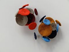 Brooches-color inspiration