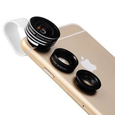 Check out Mpow 3 in 1 Clip-On 180 Degree Supreme Fisheye + 0.65X Wide Angle+ 10X Macro Lens For iPhone 6 / 6 Plus. #iPhone6 #iPhone6Plus