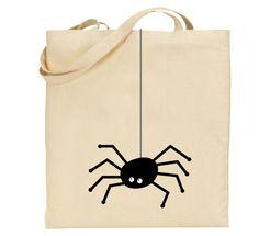 Tote bag araignée