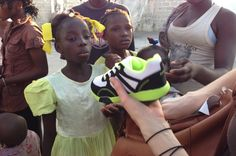 Wellspring Trust Delivers Shoes to Haiti.  www.giveshoes.org