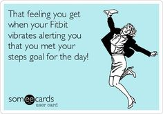 My Fitbit just vibrated! I not only met my goal of today but surpassed it! With over I feel amazing! - Tap the pin if you love super heroes too! you will LOVE these super hero fitness shirts! Fitness Tracker, Fitness Diet, Health Fitness, Fitness Pal, Fitness Routines, Gym Humor, Workout Humor, Workout Quotes, Fitbit Hr