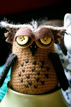 amigurumi / buhos / Owls on Pinterest Crochet Owls ...