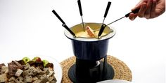 True Canadian Cheese Fondue - Recipes - Best Recipes Ever - Sweet and crispy slices of apples and pears are great for dipping. If you prefer something savoury, try mini yellow tomatoes and broccoli florets....