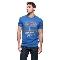 Men's John Lennon Peace Sign T-shirt