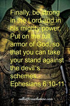 Memory Verse: Ephesians 6:10-11