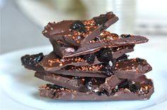 Quinoa for Dessert: 4-Ingredient Chocolate Bark