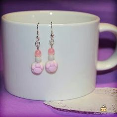 Fimo handmade earrings :3