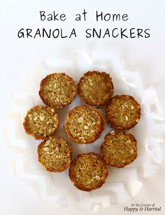 New Honey Bunches of Oats Bake at Home Granola Snackers #ad #sponsored #bakingwithbunches #IC #happyandharried #granola