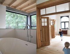 Beton in een Herenwoning, 3001 HEVERLEE - Architectenkantoor: (Full) Scale Architecten