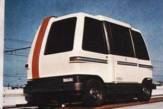 Japan 1970s computer controlled vehicle system (CVS) #podcar #retrotransportation  #advancedtransit