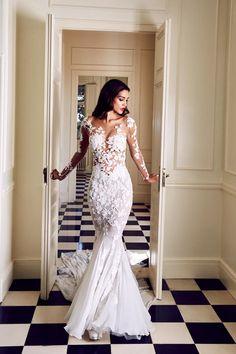 Hello, dream dress! Another stunning Pronovias piece.