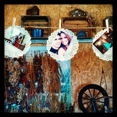 Country Wedding Shower....will y'all have engagement  pictures done?