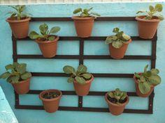 BROliveiraDIY: Horta urbana vertical