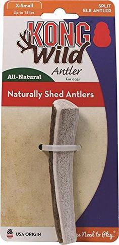 KONG Wild Antler Split, X-Small * See this great product. (This is an affiliate link and I receive a commission for the sales) #DogLovers