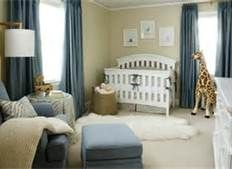 shared boys nursery room