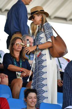 ♥•✿•QueenMaxima•✿•♥...  August 29, 2016.. The Dutch Royals attend the Equestrian Jumping individual final