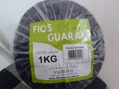 Fios Guarani (1kg) - Azul escuro 2 | Atelier da Maricota - Arte em crochet e malha | Elo7