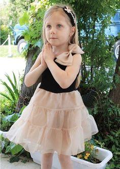 Girls White Dress, Girls Dresses, Flower Girl Dresses, White Tutu, Flower Corsage, Denim And Lace, Ivory Dresses, Kids Wear, Fancy Dress