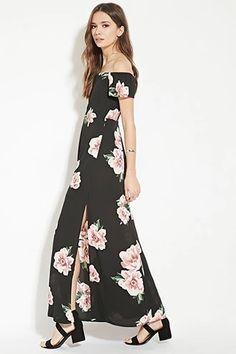 Contemporary Floral Maxi Dress   LOVE21 #f21contemporary