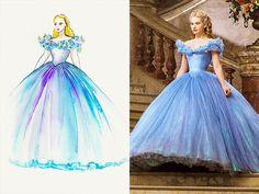 Cinderella 2015 ballgown