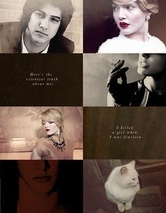 """""""clever as the devil, and twice as pretty."""" // white cat // the curse workers   holly black"""