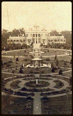 c1849-53 Italianate Belmont Mansion / Acklen Hall, Nashville, TN, 19k sqft, 36rooms.