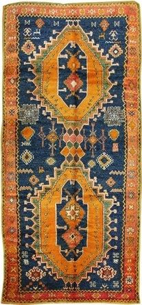 High Atlas Mountain Rug (Morocco)