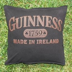 Throw Pillow Sham Cover made from Guinness by BreauxBunchQuilts, $20.00