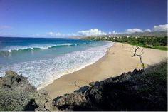 Hapuna Beach, Big Island of Hawaii -- my first and only experience body surfing!