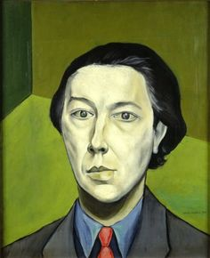 Portrait of André Breton by @artistbrauner #brauner #expressionism